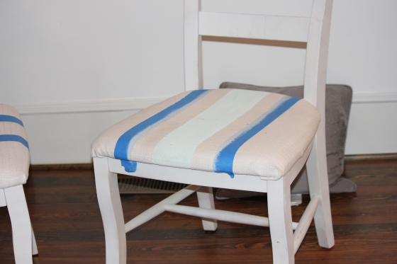 Painted Pad Chair