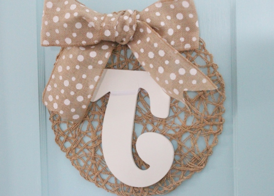 placemat wreath