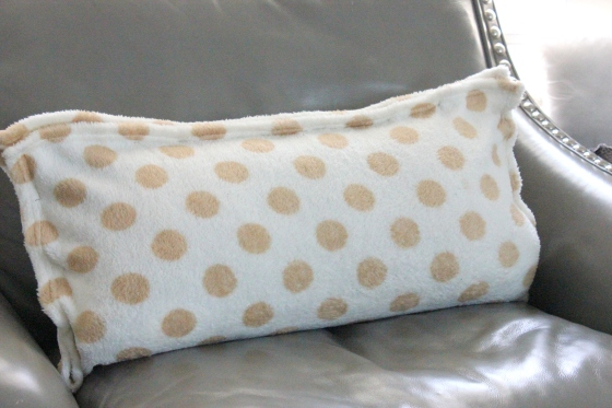 baby blanket safety pin pillow