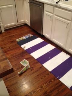 yoga mat process
