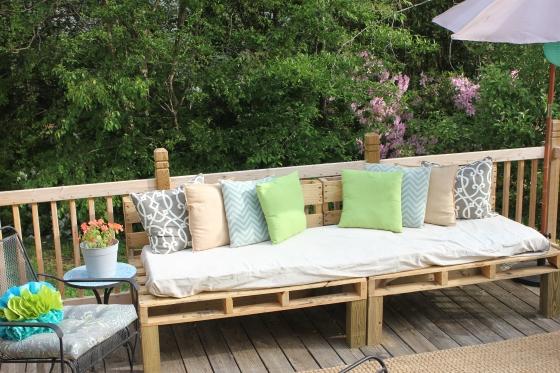 Pallet Sofa View